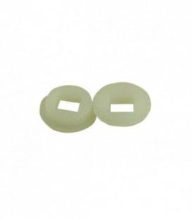 2 portées ou centreur nylon pour carré de 7mm
