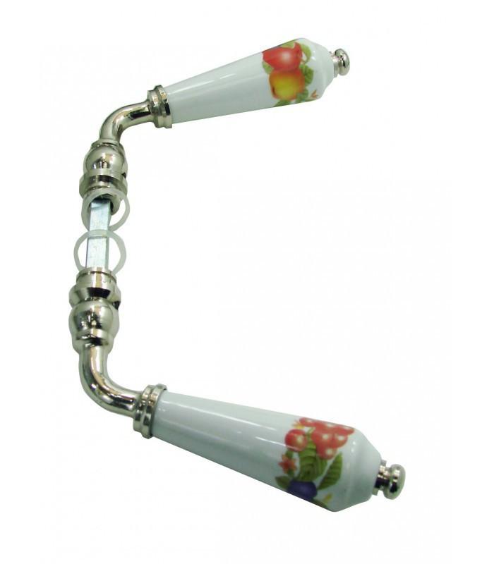 B quille double corbeille de fruits pour porte int rieure for Porte interieure blanche simple