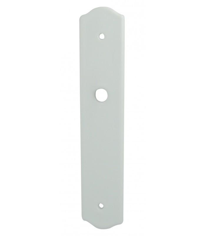Plaque propret 210 mm porcelaine de limoges blanche for Plaque de proprete porte