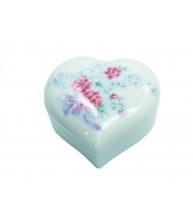 Sucrier FLEURS D'ANTAN en porcelaine de LIMOGES