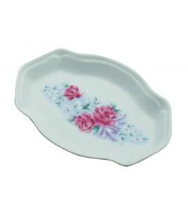 Vide poche FLEURS D'ANTAN en porcelaine de LIMOGES