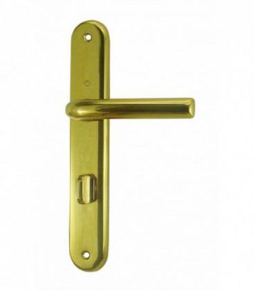 Ensemble de poign es de porte orly condamnation 195 mm - La poignee de la porte ...