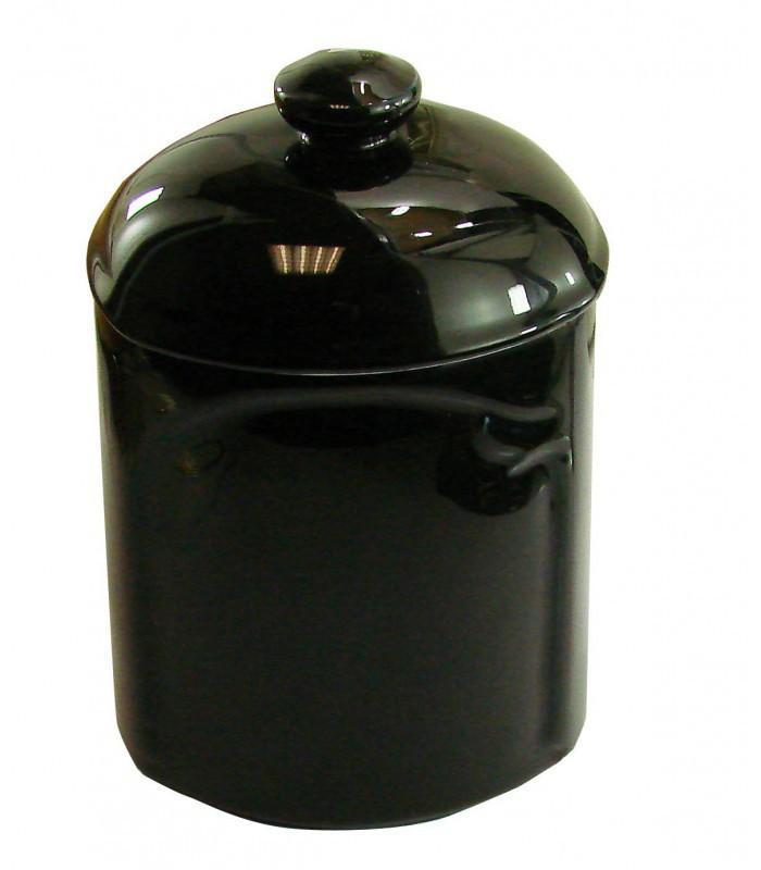 boite coton black en porcelaine de limoges 1001poign es votre sp cialiste de la poign e de. Black Bedroom Furniture Sets. Home Design Ideas