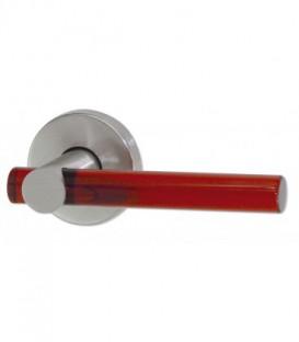 Poignée de porte sur rosace Sucre d'Orge