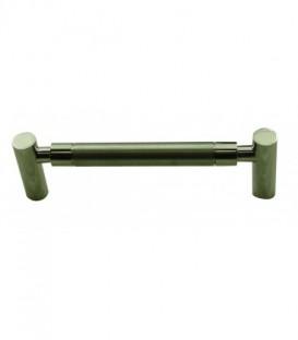 Poignée de meuble PIPE-LINE inox 316 satiné/brillant