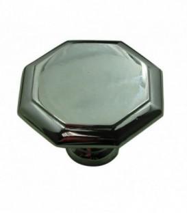 Bouton laiton OCTOGONAL D.35 mm