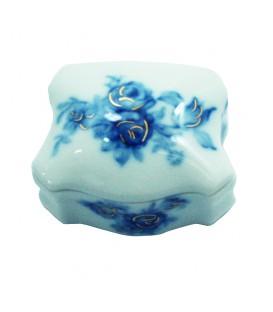 Boite ENGLISH FLOWERS en porcelaine de LIMOGES