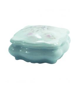 Sucrier Hortensia en porcelaine de LIMOGES