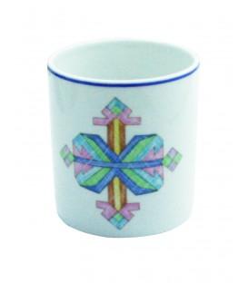 Pot Mosaic en porcelaine de LIMOGES