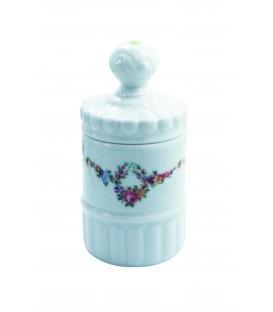 Pot PRINTEMPS en porcelaine de LIMOGES