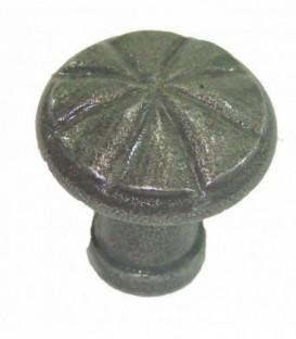 Bouton de tiroir 20mm fer gris