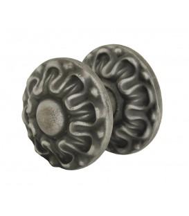 Bouton de tirage ou pommeau SARLAT fonte vieux fer