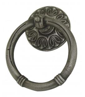 Marteau anneau SARLAT fonte vieux fer