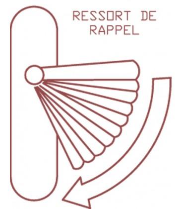 Ensemble/Rosace SIMPLY Aluminium Nickelé Satiné