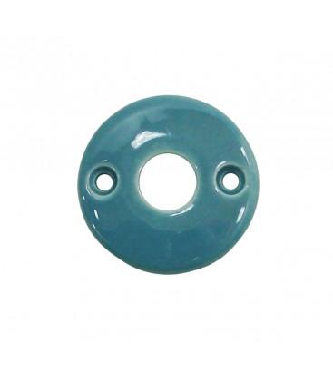 Rosace de fonction bleu de prusse sans trou