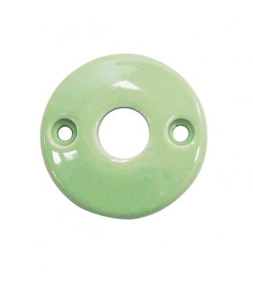 Rosace de fonction vert d'eau sans trou
