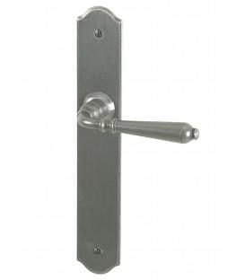 Poignée de porte EPERNAY TB fer gris 195 mm