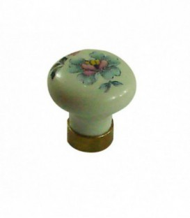 Bouton de meuble EMPIRE en porcelaine D.35mm