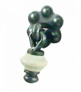 Pendant de meuble en porcelaine craquelé