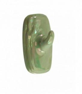 Porte gant simple nacré en porcelaine