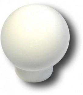 Bouton de meuble BLANC D.27 mm