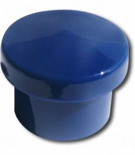 Bouton de meuble BLEU D.30 mm