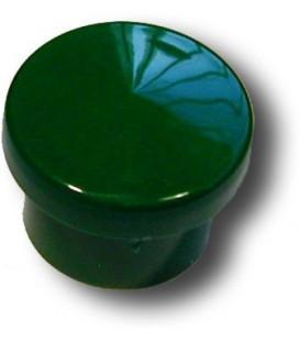 Bouton de meuble VERT D.30 mm